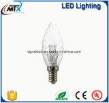 Lámpara retra 110V/220V G125 de la luz de la vela del bulbo de la vendimia LED de MTX E27 3W Edison