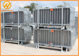 Qualitäts-Stahlmetallsicherheitszaun-Sperre zu gedrängter Steuerung