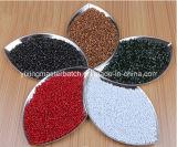 El plástico del PLA del color del alto grado granula Masterbatch, color rojo Masterbatches