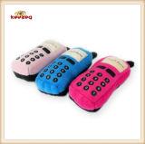 Giocattolo di stile del cellulare del giocattolo della peluche dell'animale domestico per il cane (KB0003)