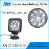"""Luz cuadrada brillante estupenda del trabajo de 4 """" 27W LED con 9 virutas del PCS"""