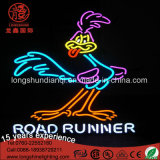 Flexível High Bright Duck LED Neon Light Sign para publicidade