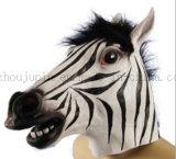 Het plastic Gestreepte Stuk speelgoed van het Masker van het Paard voor de Bevordering van Halloween Cosplay