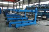 Roulis de matériau de construction de tuiles de toiture formant la machine
