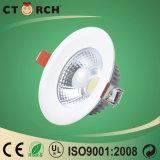 Ctorch gute Aluminiumvorrichtungs-Wärmeableitung LED unten helles 7W