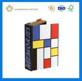 주문품 광택지 장식적인 책 모양 상자는 도매한다 (본래 고아한 디자인)