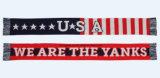 Шарфы 100% акриловые Kint с конструкцией США Weave жаккарда