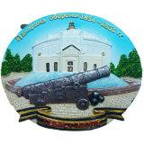 De Magneten van de Koelkast van de Bouw van Rusland van de Douane van de hars voor Deco