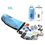 Мешок дешевого изготовленный на заказ пакета океана логоса водоустойчивый сухой