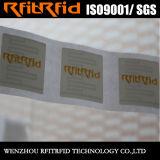 escrituras de la etiqueta pasivas de la etiqueta engomada RFID del color del rango largo 860-960MHz