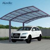 Parkings en aluminium de stationnement de véhicule de polycarbonate de bâti de protection UV