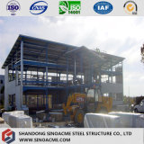 Magazzino veloce della struttura d'acciaio dell'indicatore luminoso della costruzione/liberato di/workshop