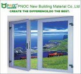 China-Aluminiumfenster-Aluminiumflügelfenster-Fenster mit Vorrahmen