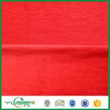 Tela casera del paño grueso y suave del terciopelo del poliester de la materia textil