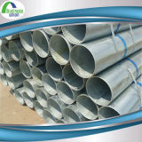 Água do MERGULHO quente e tubulação de aço galvanizada construção