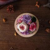 De Natuurlijke Bloem van 100% voor de Gift van de Dag van de Valentijnskaart