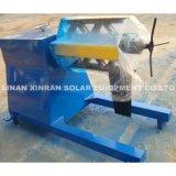 Rolo que dá forma ao carrinho solar da máquina que faz a maquinaria