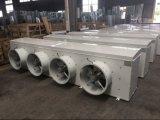 Plaque en acier d'évaporateur de chambre froide de congélateur à air forcé avec le jet en plastique