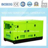 15kw open Diesel die Generator door Weichai Engine wordt aangedreven