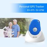 Perseguidor pessoal do preço EV-07s/EV-07W GPS da manufatura com seguimento tempo real do mini localizador da G/M GPRS GPS da estação de embarcadouro