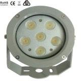 6X3w LEDの庭の点ライト、景色ライト、LEDの洪水ライト
