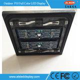 P10 복각 LEDs 풀 컬러 광고를 위한 옥외 발광 다이오드 표시
