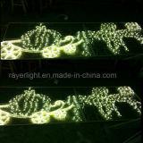 La decoración exterior de las luces LED de gran decoración vacaciones