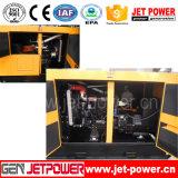 70kw de Elektrische Geluiddichte Generator van de dieselmotor