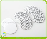 bouteille en plastique de médecine du PE 50ml avec le chapeau en plastique