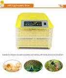 100個の卵のための安い自動小型鶏の卵の定温器