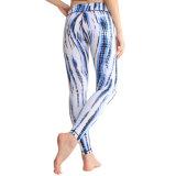 Износ йоги кальсон Contol Tummy Legging плотно женщин
