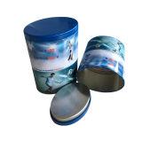 Kundenspezifisches Irregular Oval Shape Metal Tin Conatier für Tea Candy