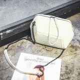 고품질 악어 가죽 가방 Irregularilly에 의하여 개인화되는 PU 핸드백 숙녀 여자 핸드백 Sy8482