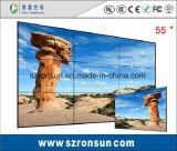Cadre étroit du souper 47pouces Slim 55pouces écran LCD d'épissage mur vidéo