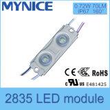 1.08W SMD 2835 LED Signage Light Módulos de injeção à prova d'água com lente