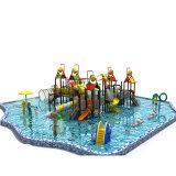 Пластиковый слайды для детей водный парк оборудования на продажу