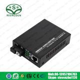 Une seule fibre Fast Ethernet 10/100 1310/1550nm 20km Convertisseur de supports optiques