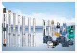 Hoja de acero inoxidable sumergibles de pozo profundo bomba para agua clarificada