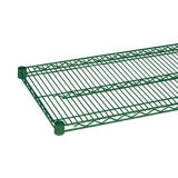 Epoxy Coated Green Steel Restaurant Industrial Dish Drying Rack Fornecedor