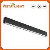 호텔을%s 알루미늄 밀어남 에너지 절약 LED 선형 펀던트 빛