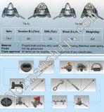 45 Grad-Behälter-Torsion-Verschluss