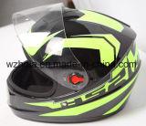 아BS 물자를 가진 좋은 판매 굵은 활자 안전 기관자전차 헬멧