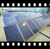 vidrio solar modelado hierro inferior de 4.0m m para el panel solar