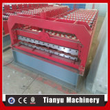 Cer-Bescheinigungs-Farben-überzogenes Profil-Stahldach-Fliese, die Maschine herstellt
