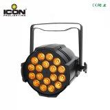 Heiße 18X10W 4in1 RGBW LED PAR64 DJ beleuchten für Stadium