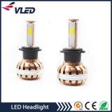 Lâmpada do farol do carro LED H7 10V-30V Kit da luz da cabeça do diodo emissor de luz para peças de automóvel