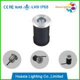Indicatore luminoso subacqueo messo lampada esterna di IP68 LED