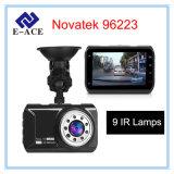 HD cheio gravador de vídeo de 3 polegadas para a visão noturna