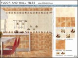 3D Building Material Wall Tile/Kitchen Floor and Wall Ceramic Tile (VWD36C621, 300X600mm)