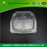 Устранимые пластмасовые контейнеры с крышкой для еды